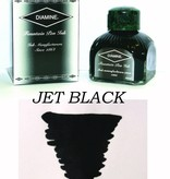 DIAMINE DIAMINE JET BLACK - 80ML BOTTLED INK