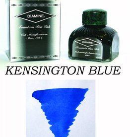 DIAMINE DIAMINE BOTTLED INK 80ML KENSINGTON BLUE