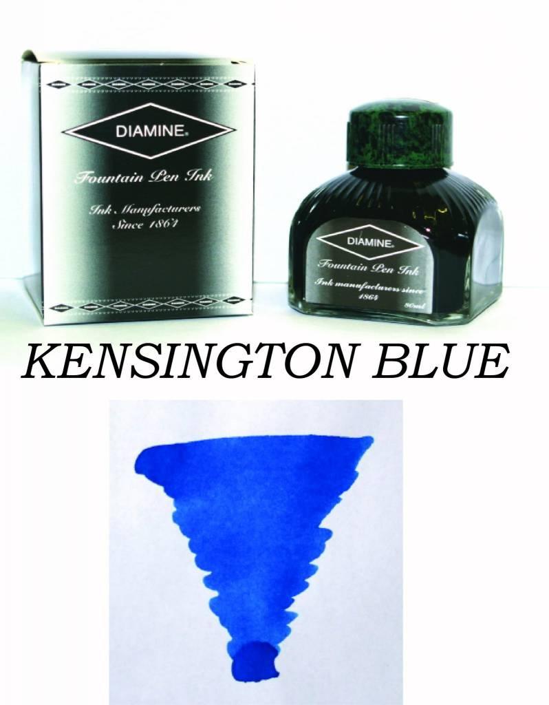 DIAMINE DIAMINE BOTTLED INK 80ML KENSINGTON BLUE