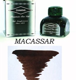 DIAMINE DIAMINE BOTTLED INK 80ML MACASSAR