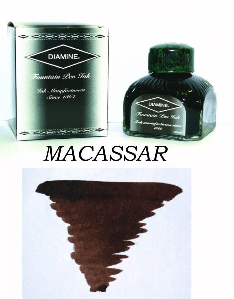DIAMINE DIAMINE BOTTLED INK 80ML MACASSAR