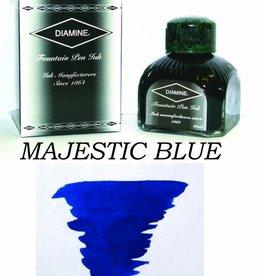 DIAMINE DIAMINE MAJESTIC BLUE - 80ML BOTTLED INK