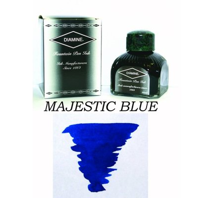Diamine Diamine Majestic Blue - 80ml Bottled Ink