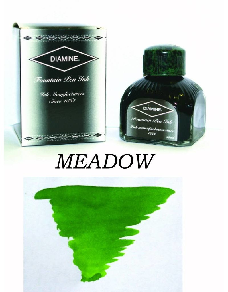 DIAMINE DIAMINE MEADOW - 80ML BOTTLED INK