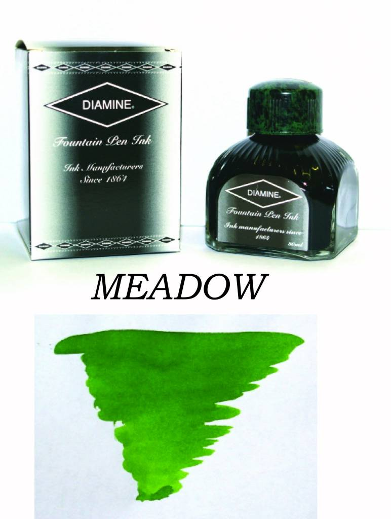DIAMINE DIAMINE BOTTLED INK 80ML MEADOW