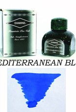 DIAMINE DIAMINE BOTTLED INK 80ML MEDITERRANEAN BLUE