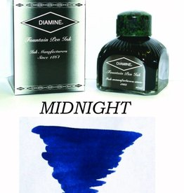 DIAMINE DIAMINE BOTTLED INK 80ML MIDNIGHT