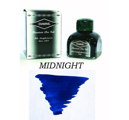 DIAMINE Diamine Midnight - 80ml Bottled Ink