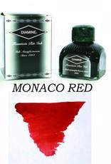 DIAMINE DIAMINE BOTTLED INK 80ML MONACO RED