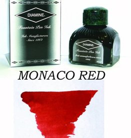 DIAMINE DIAMINE BOTTLED INK 80ML MONACO RED