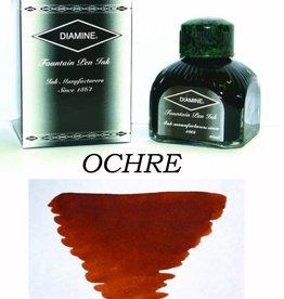 DIAMINE DIAMINE BOTTLED INK 80ML OCHRE