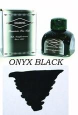 DIAMINE DIAMINE ONYX BLACK - 80ML BOTTLED INK