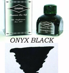 DIAMINE DIAMINE BOTTLED INK 80ML ONYX BLACK