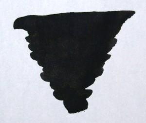 DIAMINE DIAMINE BOTTLED INK 80ML ONYX BLACK