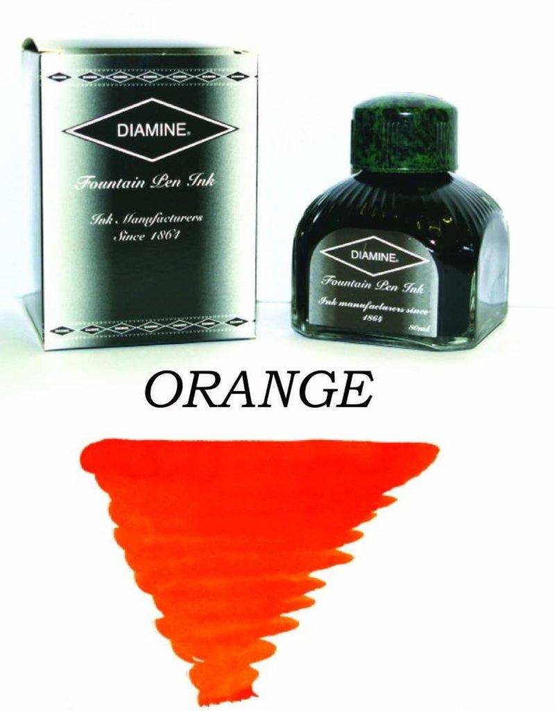DIAMINE DIAMINE ORANGE - 80ML BOTTLED INK