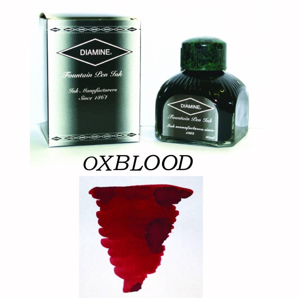 DIAMINE DIAMINE BOTTLED INK 80ML OXBLOOD