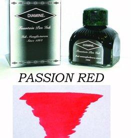 DIAMINE DIAMINE BOTTLED INK 80ML PASSION RED