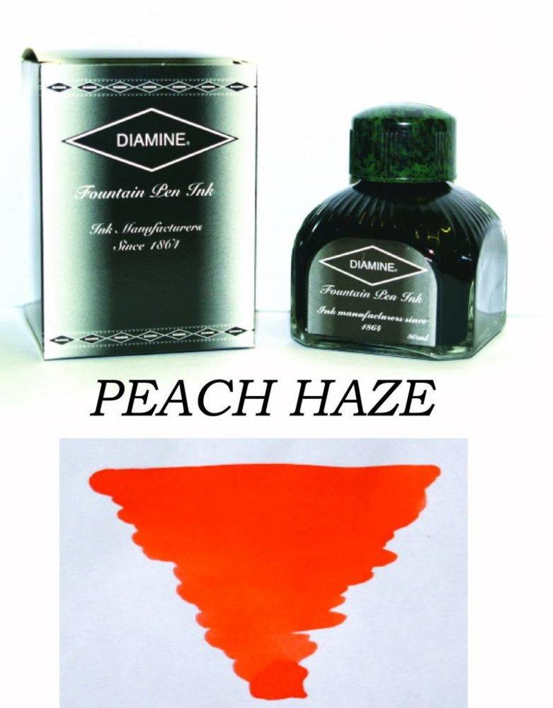 DIAMINE DIAMINE PEACH HAZE - 80ML BOTTLED INK