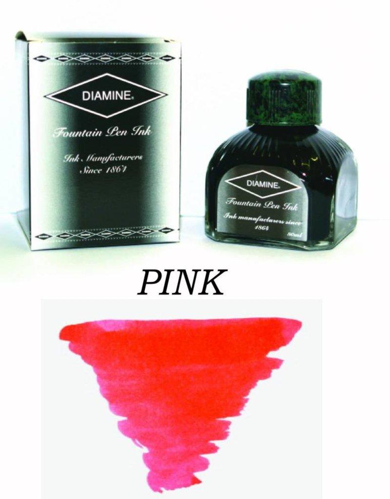 DIAMINE DIAMINE PINK - 80ML BOTTLED INK
