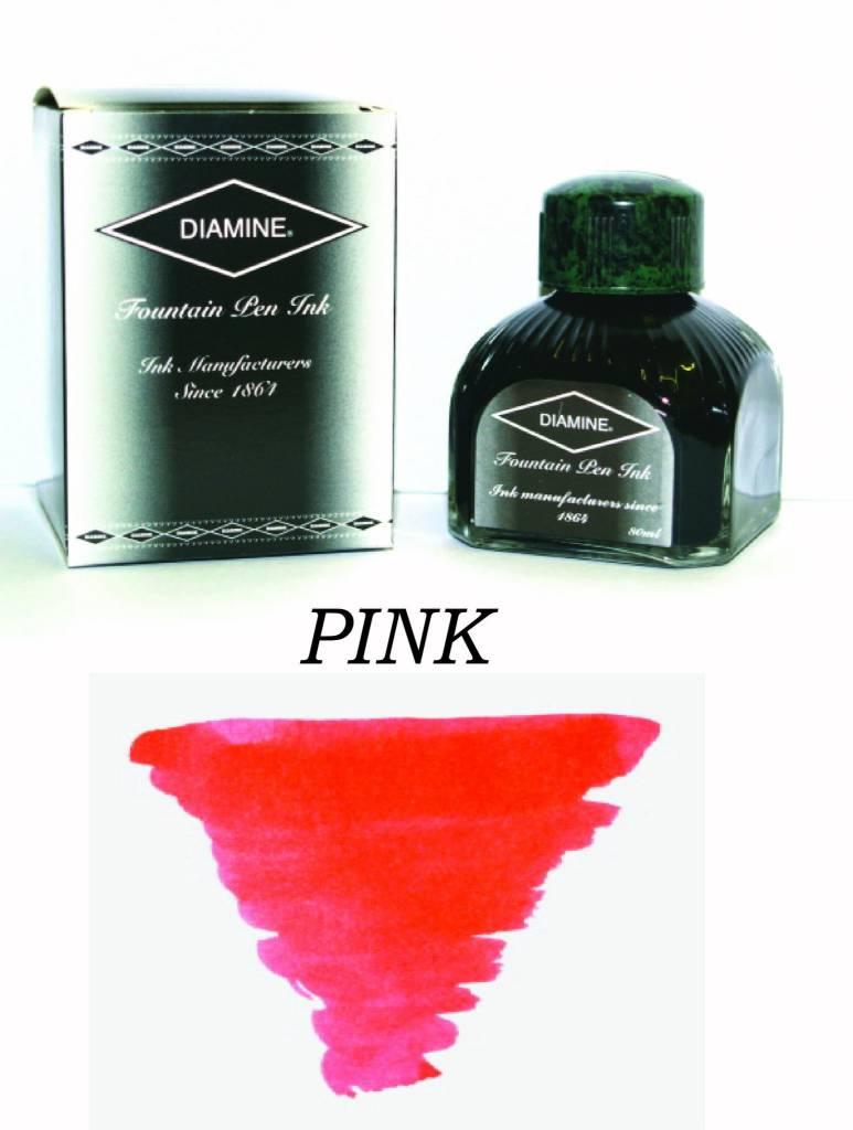 DIAMINE DIAMINE BOTTLED INK 80ML PINK
