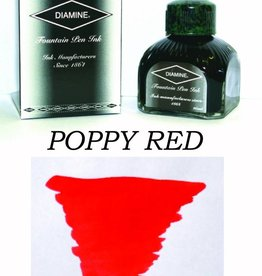 DIAMINE DIAMINE BOTTLED INK 80ML POPPY RED
