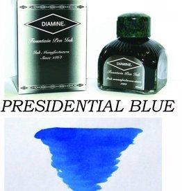 DIAMINE DIAMINE BOTTLED INK 80ML PRESIDENTIAL BLUE SPECIAL EDITION