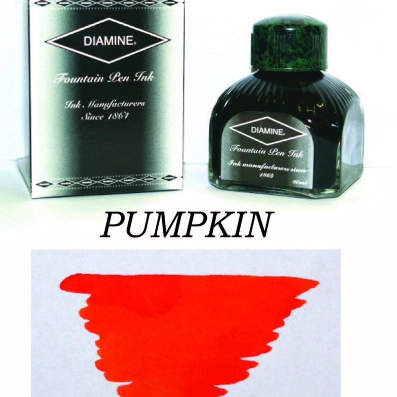 DIAMINE DIAMINE PUMPKIN - 80ML BOTTLED INK