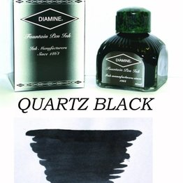 Diamine Diamine Quartz Black - 80ml Bottled Ink