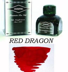 DIAMINE DIAMINE BOTTLED INK 80ML RED DRAGON