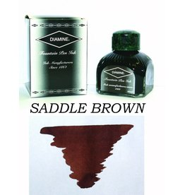 DIAMINE DIAMINE SADDLE BROWN - 80ML BOTTLED INK