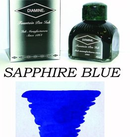 DIAMINE DIAMINE SAPPHIRE BLUE - 80ML BOTTLED INK