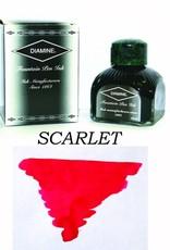 DIAMINE DIAMINE BOTTLED INK 80ML SCARLET