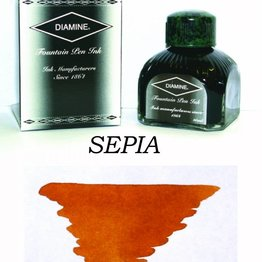 Diamine Diamine Sepia - 80ml Bottled Ink