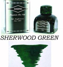 DIAMINE DIAMINE SHERWOOD GREEN - 80ML BOTTLED INK