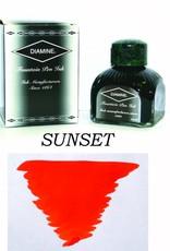 DIAMINE DIAMINE BOTTLED INK 80ML SUNSET