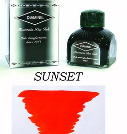 DIAMINE DIAMINE BOTTLED INK 80ML SUNSET
