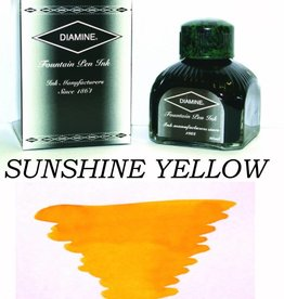 DIAMINE DIAMINE BOTTLED INK 80ML SUNSHINE YELLOW