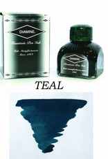 DIAMINE DIAMINE TEAL - 80ML BOTTLED INK