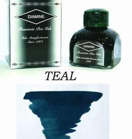 DIAMINE DIAMINE TEAL - 80ML BOTTLED INK