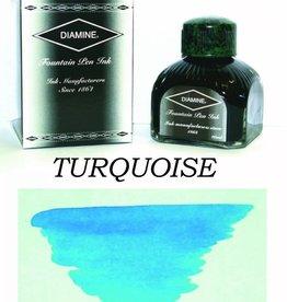 DIAMINE DIAMINE BOTTLED INK 80ML TURQUOISE