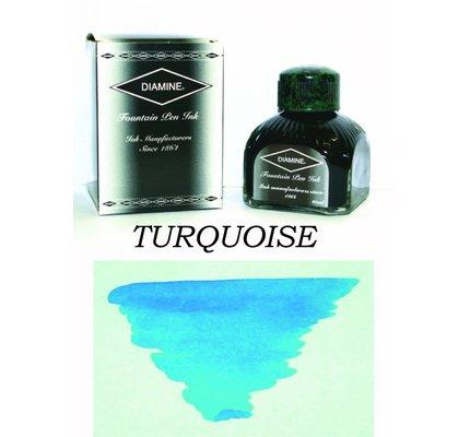 DIAMINE DIAMINE TURQUOISE - 80ML BOTTLED INK