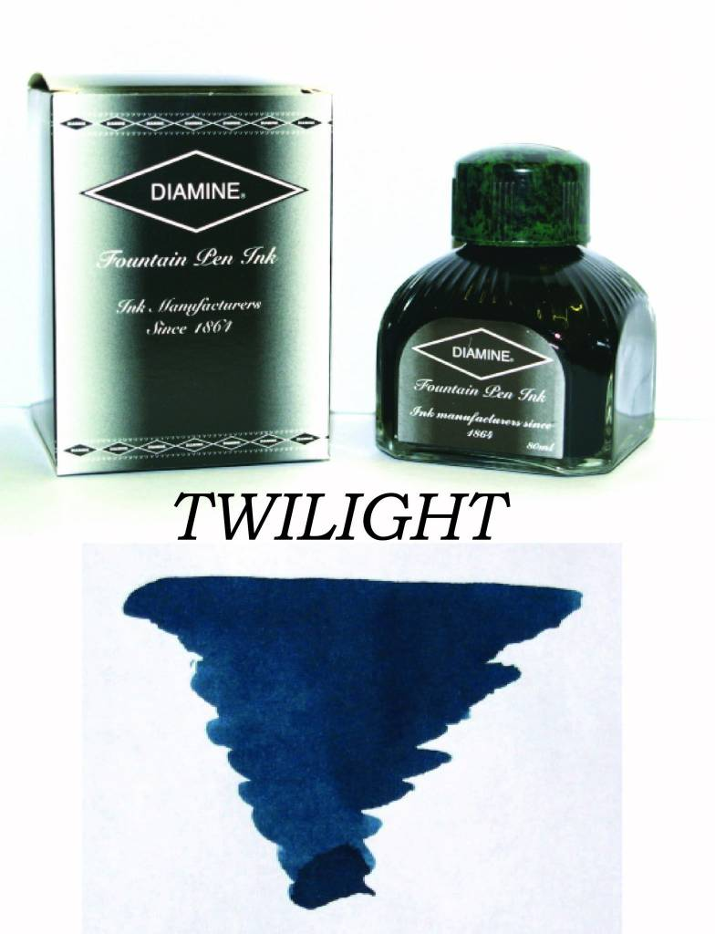 DIAMINE DIAMINE BOTTLED INK 80ML TWILIGHT