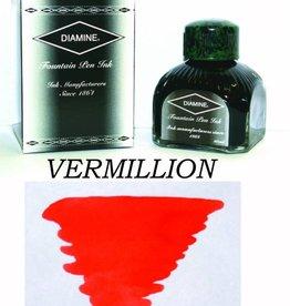 DIAMINE DIAMINE VERMILLION - 80ML BOTTLED INK