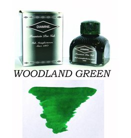 DIAMINE DIAMINE WOODLAND GREEN - 80ML BOTTLED INK