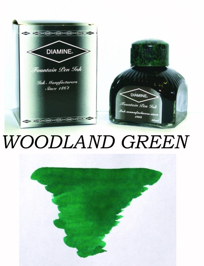 DIAMINE DIAMINE BOTTLED INK 80ML WOODLAND GREEN