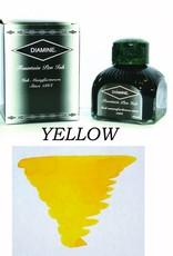 DIAMINE DIAMINE BOTTLED INK 80ML YELLOW