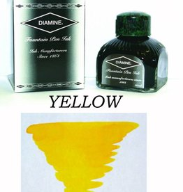 DIAMINE DIAMINE BOTTLED INK 80ML YELLOW