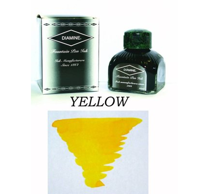 DIAMINE DIAMINE YELLOW - 80ML BOTTLED INK