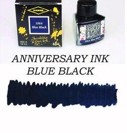DIAMINE DIAMINE ANNIVERSARY BOTTLED INK 40 ML - BLUE BLACK
