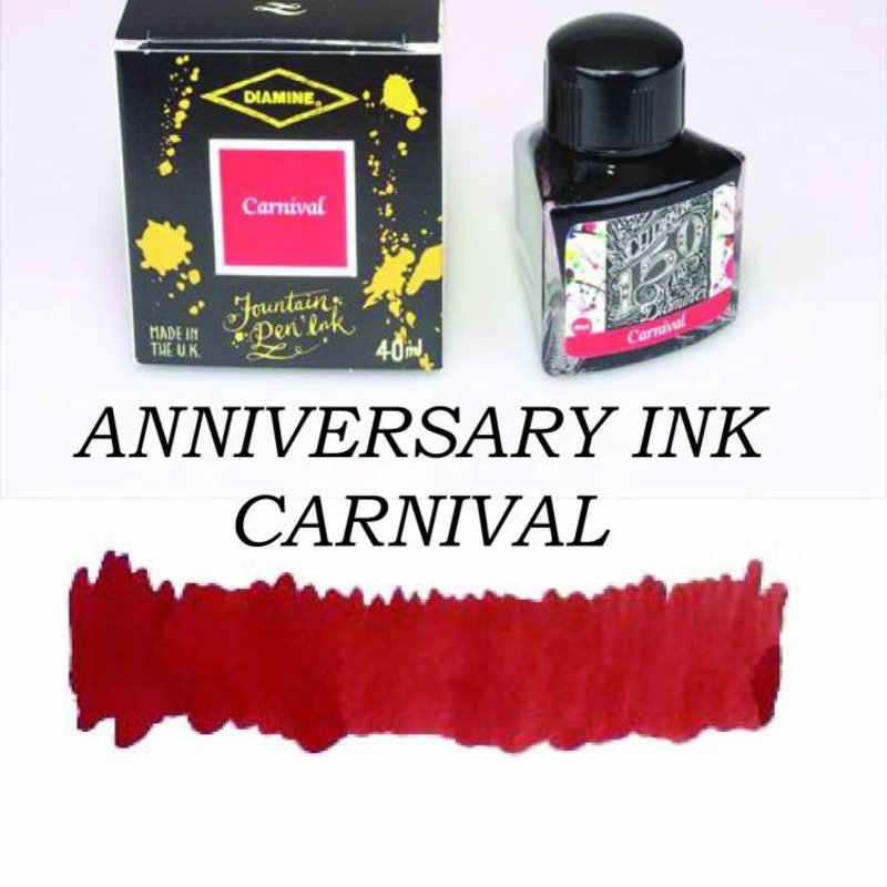 Diamine Diamine Anniversary Carnival - 40ml Bottled Ink